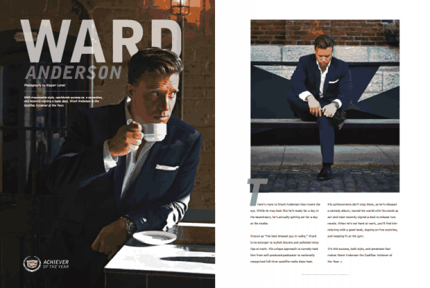 Ward in Sharp Magazine